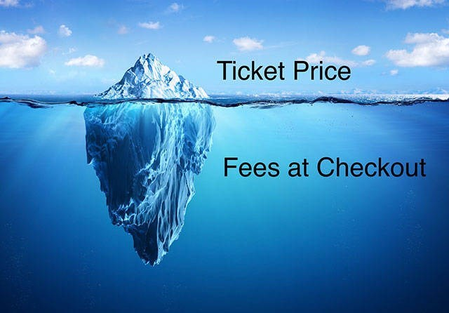 Polar ice cap - Ticket Price Fees at Checkout