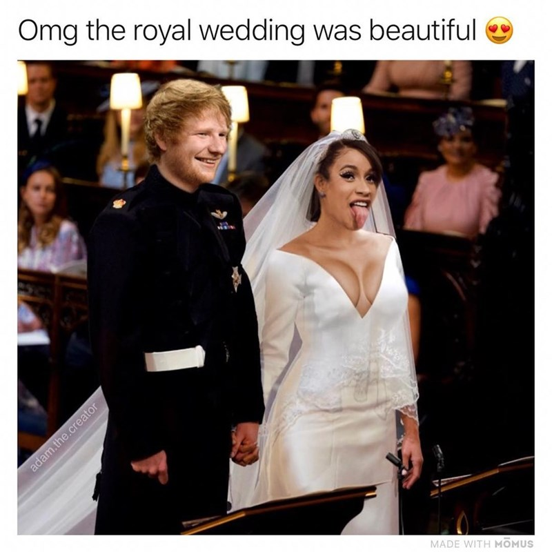 Dress - Omg the royal wedding was beautiful adam.the.creator MADE WITH MOMUS