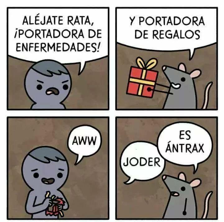 cuando una rata te hace un regalo que no pudiste rechazar