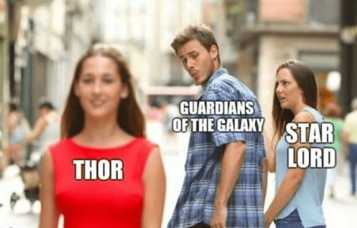 meme - People - GUARDIANS OF THE GALAKY STAR LORD THOR