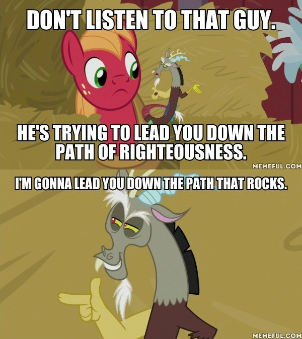 discord the breakup breakdown screencap Big Macintosh the-emperors-new-groove ponify comic - 9167227392