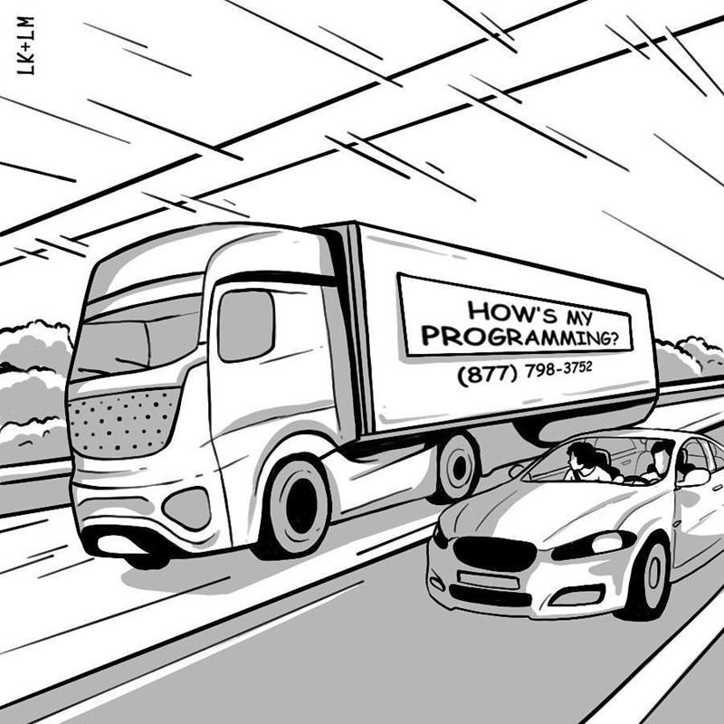 Land vehicle - HOW'S MY PROGRAMMING? (877) 798-3752 LK+LM