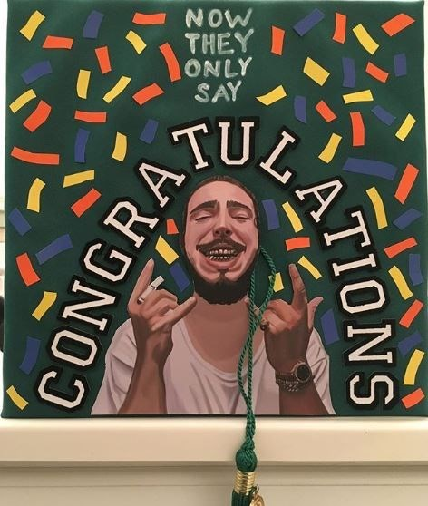 Text - NOW THEY ONLY SAY TUL ATIONS CONGRA