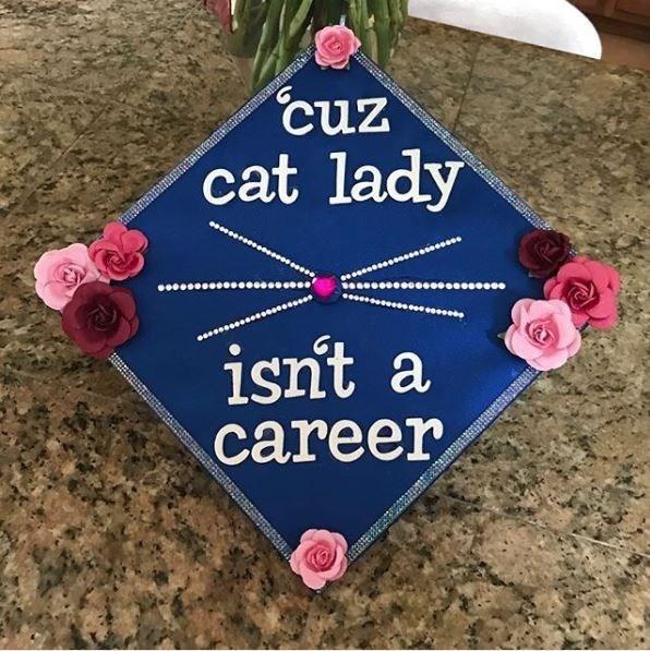Pink - cuz cat lady isn't a career