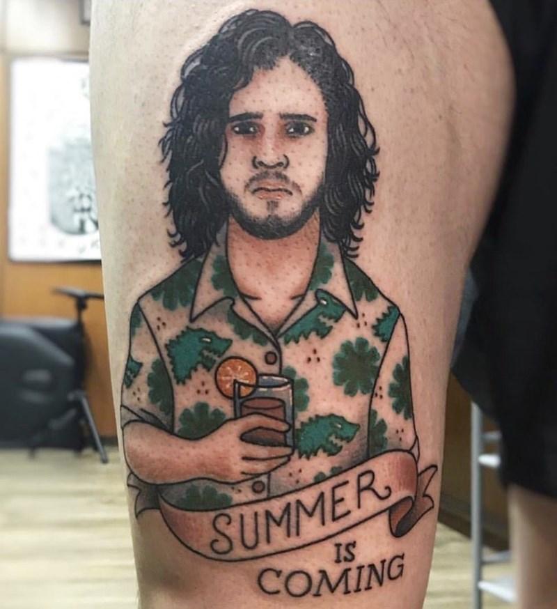 bad taste good execution - Tattoo - SUMMER IS COMING