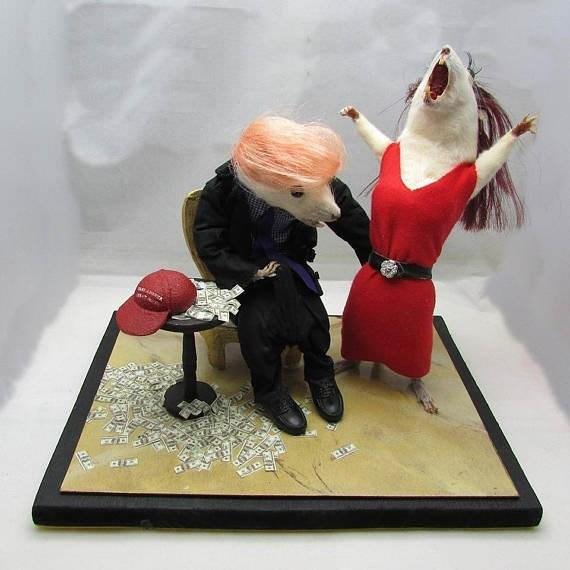 bad taste good execution - Figurine