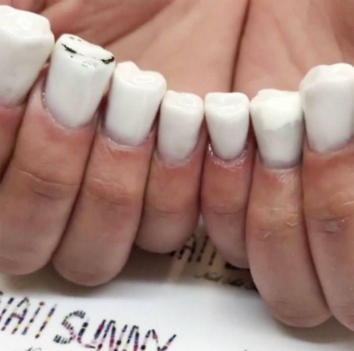 teeth - Nail - ALSUNNY