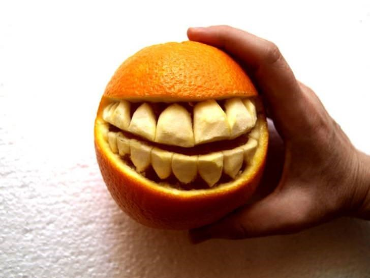 teeth - Orange