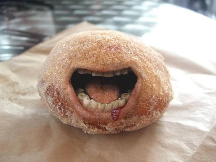 teeth - Food