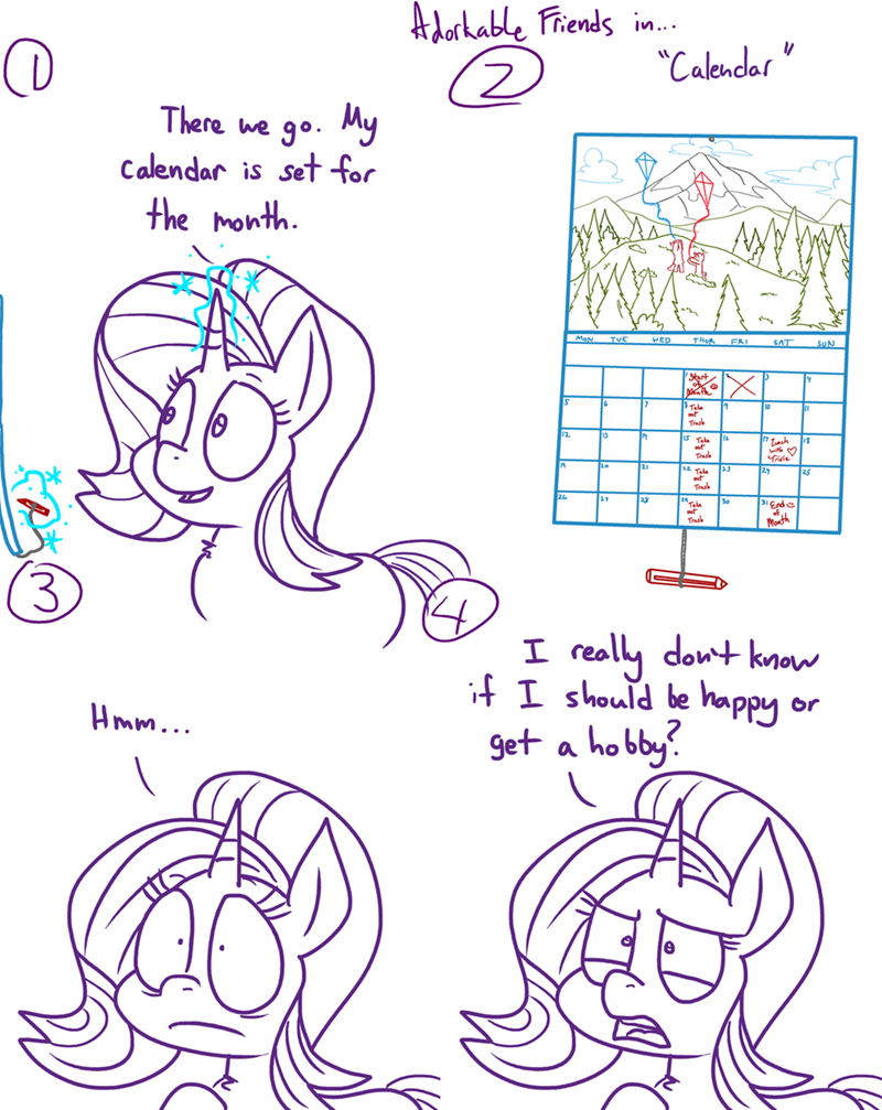 starlight glimmer comic adorkable twilight and friends - 9167800320
