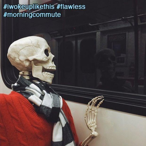 Head - #iwokeuplikethis #flawless #morningcommute ETAVITOA