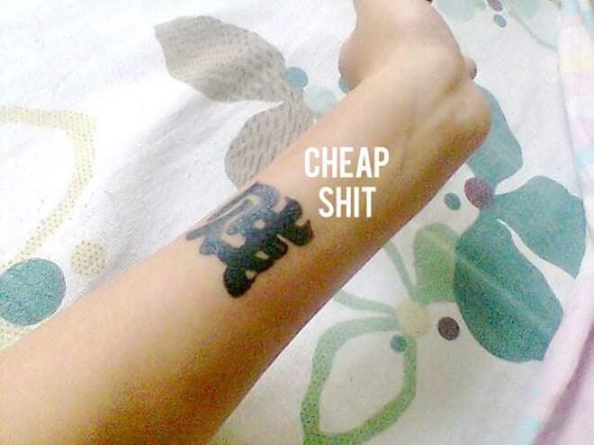 Tattoo - CHEAP SHIT