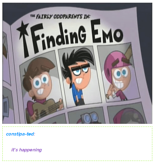 Cartoon - THE FAIRLY ODDPARENTS IN FindinG Eno constipa-ted: it's happening