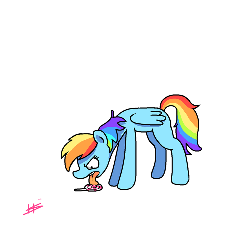 angry candy consumption pencil brony rainbow dash - 9168324096