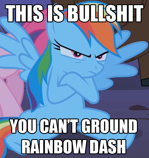 screencap over a barrel rainbow dash - 9168325376