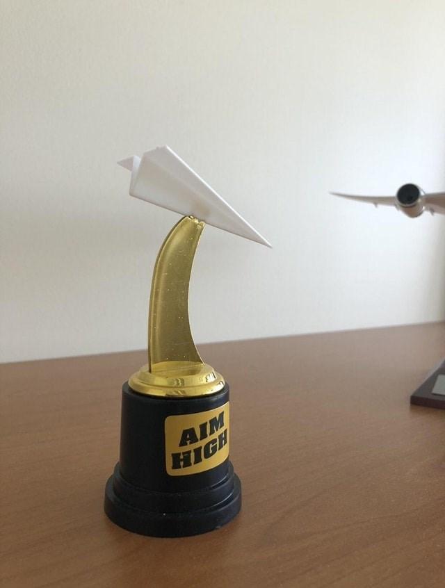Trophy - AIM HIGH
