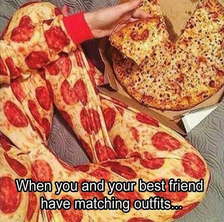 """When you and your best friend have matching outfits"""