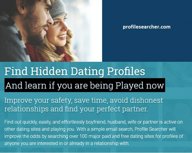 online dating profile email search