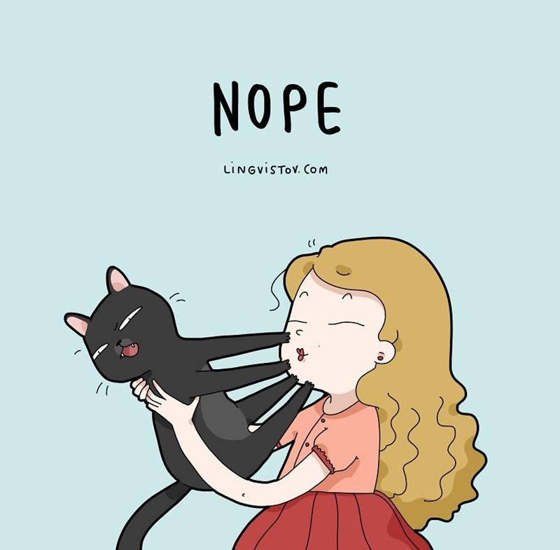 Cartoon - NOPE LINGVISTOV. Com