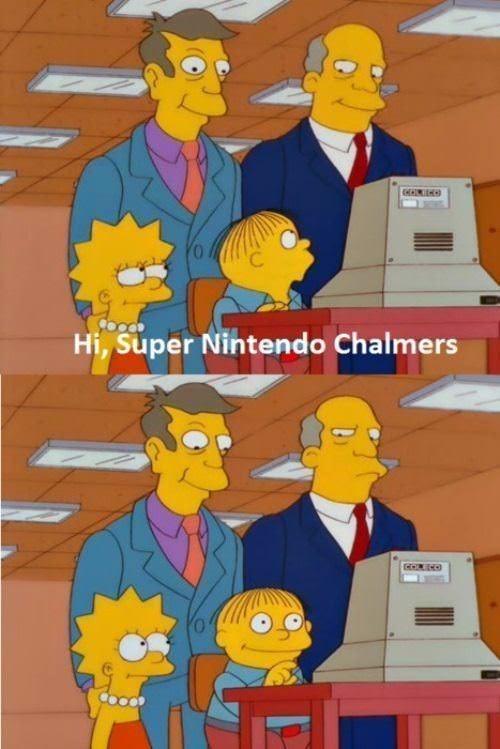Cartoon - Hi, Super Nintendo Chalmers CORECO