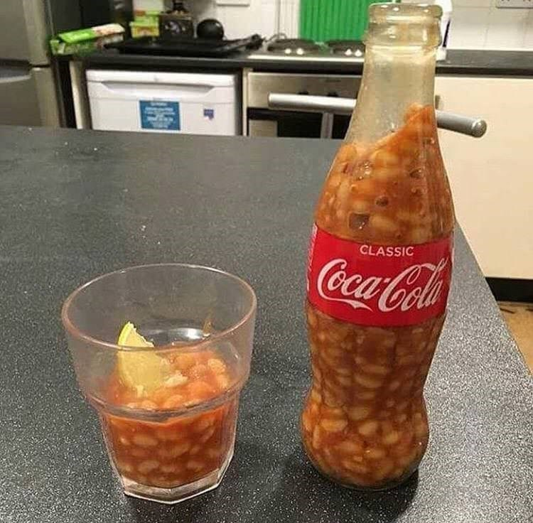 cursed_image - Drink - CLASSIC CocaCola with beans