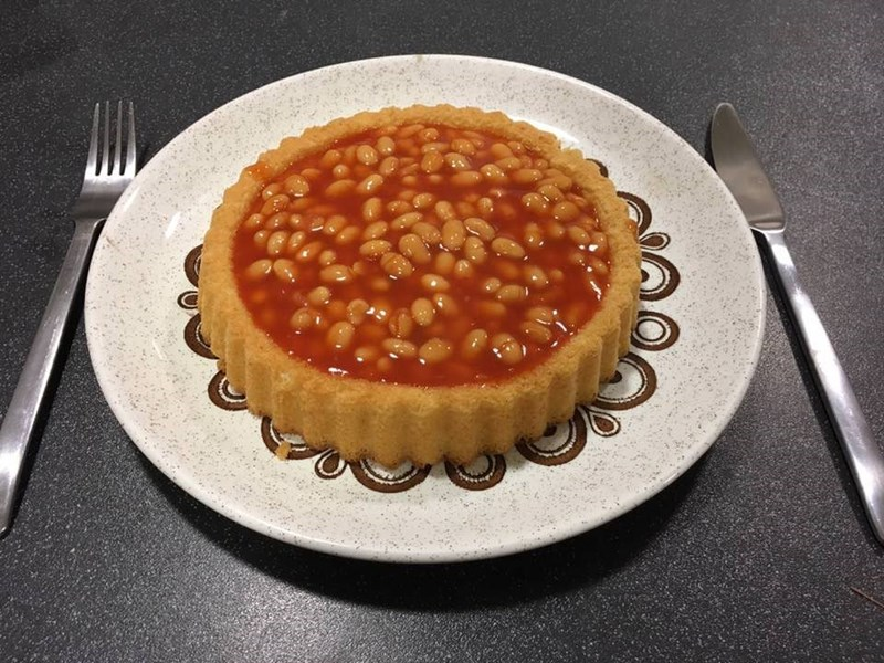 cursed_image - pie filled with beans