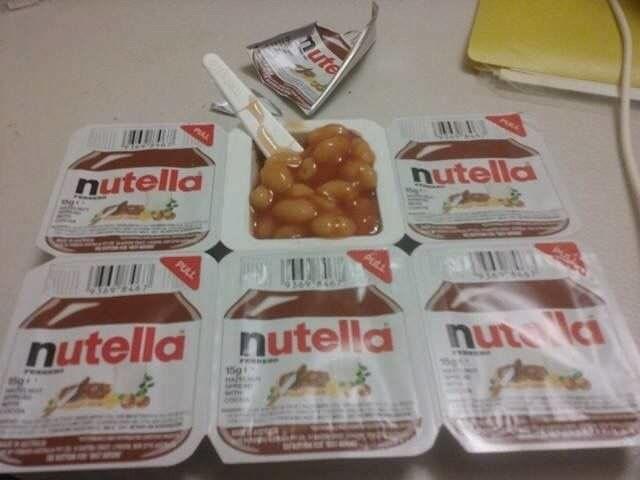 cursed_image - Food - AD ute nutella nutella PULL nutella nutella nu l