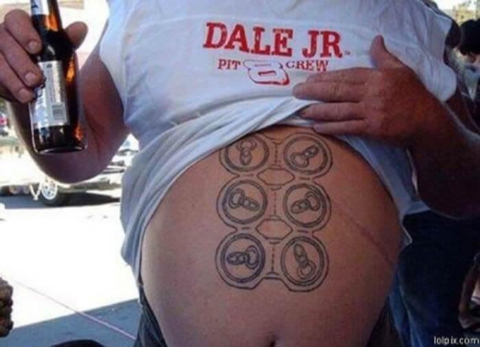 Tattoo - DALE JR CREW PIT lolp ix.com