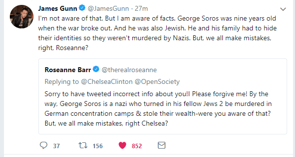 Roseanne Bar gets owned on Twitter