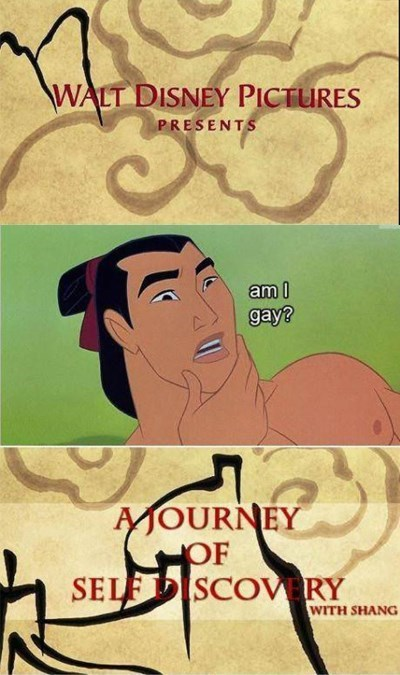 """""""Walt Disney Pictures presents: A Journey of Self Discovery"""""""