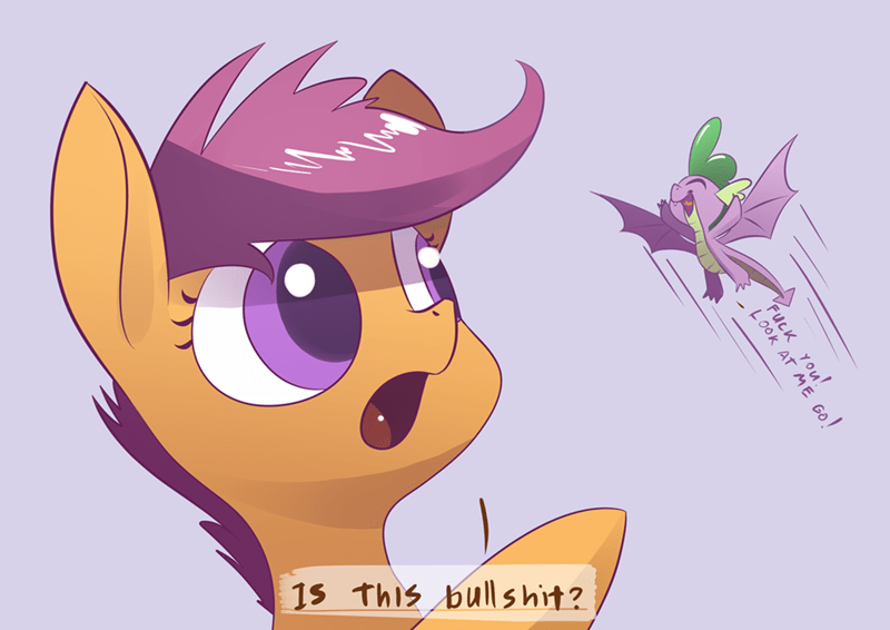 spike molt down underpable Memes Scootaloo opinions - 9170067712