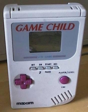 Electronic device - GAME CHILD do CAME ON START ACL arr PAUSE PLATE/LEE maxIm