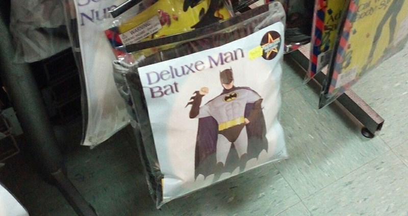 Banner - Nu A WARNING Deluxe Man Bat