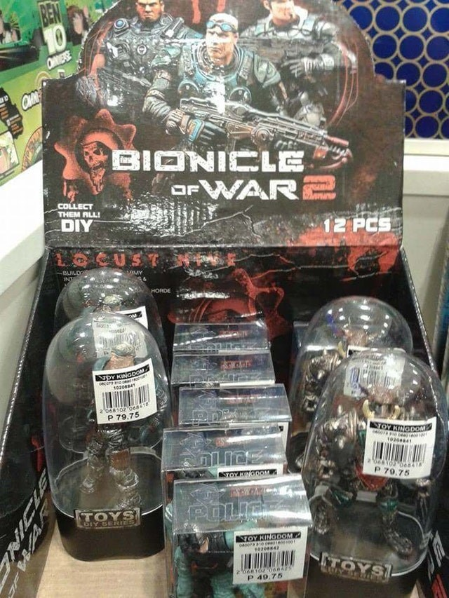 Action figure - 10 OESE QHN BIONICLE OFWAR COLLECT THEM ALL! DIY 12 PCS LOCUST BUILD OMY INTA HORDE ON OY KINGDOM caanees 102041 2 068102 0e841 P 79.75 TOY KINGDOM 1020041 2066T0 e841 3TOY KINGOOM P 79.75 POLIC TOYS LOLY SERerES TOY KINGDOM 1020ss4 TOYS 2666162-o66425 P 49.75 ZNICLE BBCAR