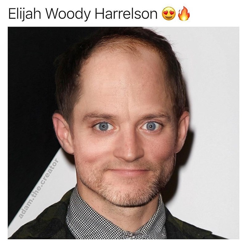Face - Elijah Woody Harrelson adam.the.creator