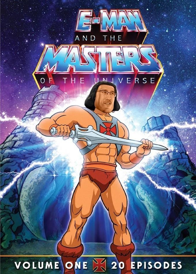 Hero - E-MA AND THE MASTERS O F THEUNVERSE 20 EPISODES VOLUME ONE