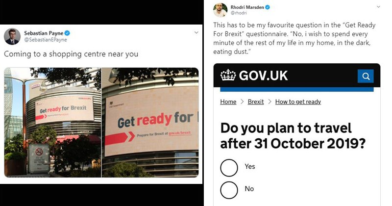 Funny memes and tweets about 'getting ready for Brexit'