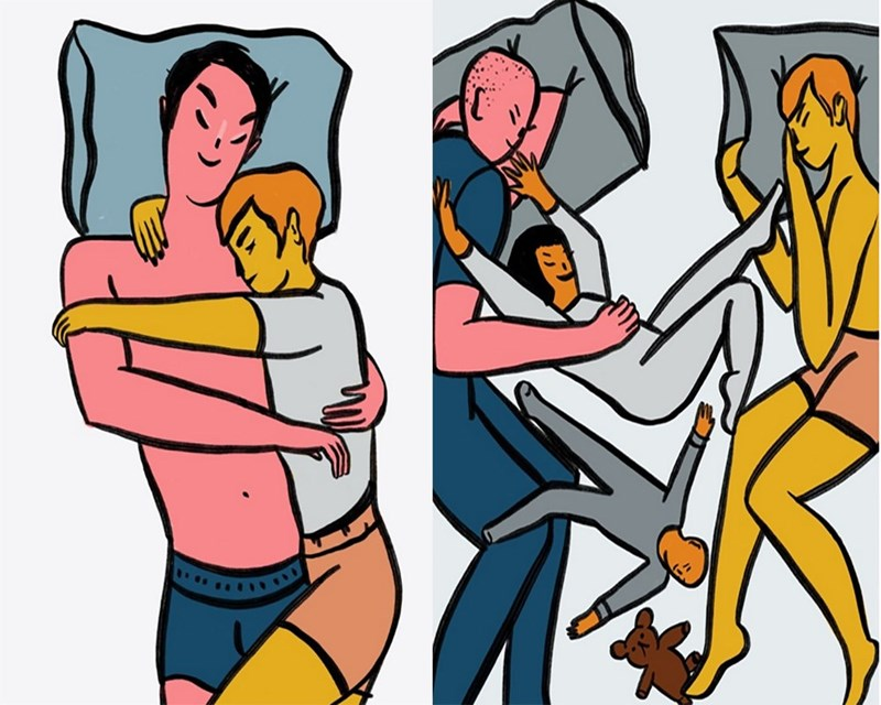 Cartoon about naps