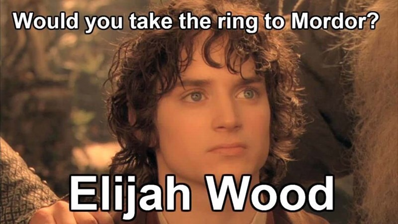 Hair - Would you take the ring to Mordor? Elijah Wood