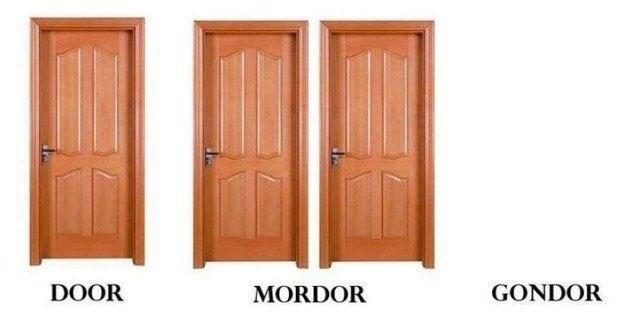 Door - DOOR GONDOR MORDOR