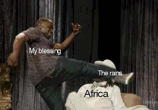 man kicking other man in the face africa toto meme