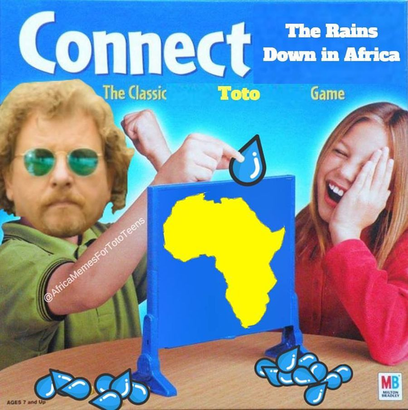 connect 4 ad girl and boy playing it africa toto