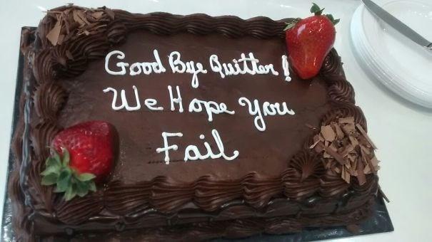Cake - Good Bau Guiritien! WeHope yo Fail
