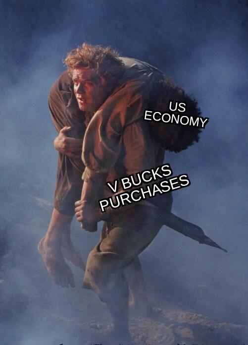Poster - US ECONOMY V BUCKS PURCHASES