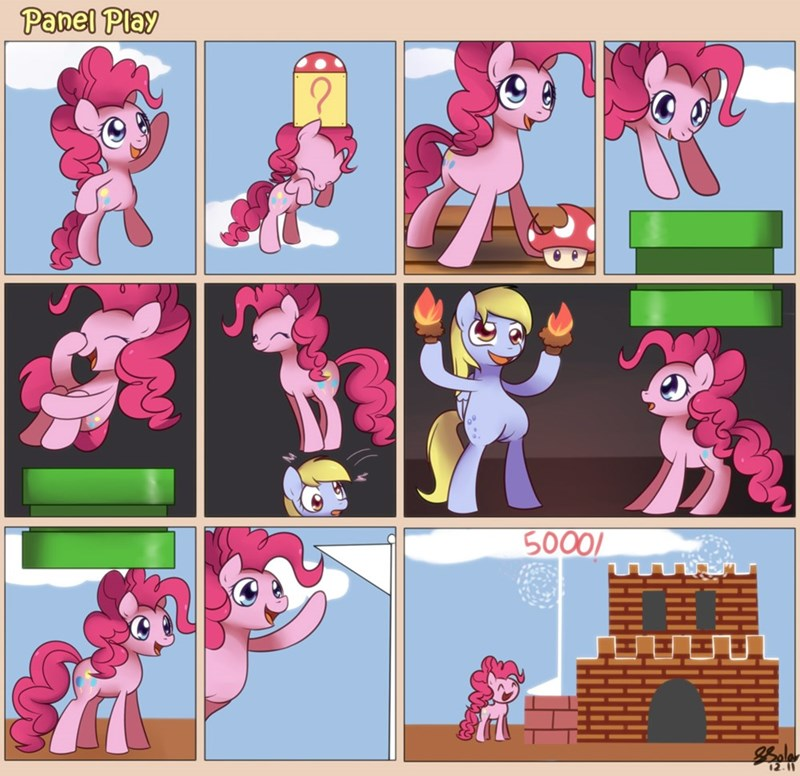 derpy hooves pinkie pie bukoya-star ponify comic mario - 9174247680