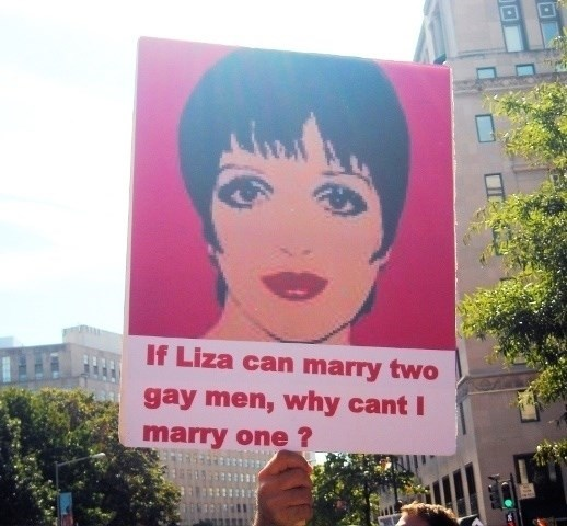 Sky - If Liza can marry two gay men, why cant I marry one?