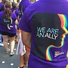 Purple - ALLY WE ARE ANALLY NYC HE E