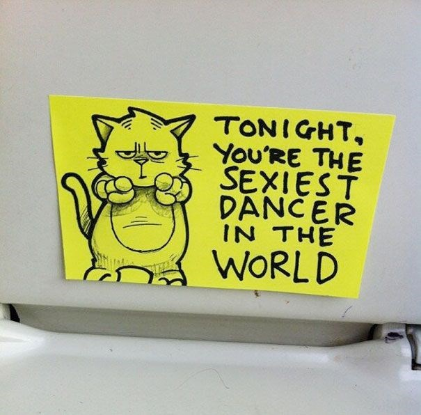 Yellow - TONIGHT, You'RE THE SEXIEST DANCER IN THE WORLD