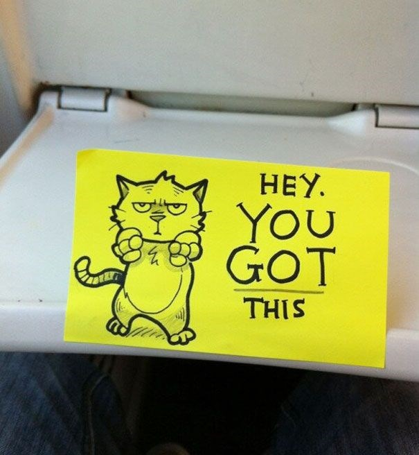 Yellow - HEY. YOU GOT THIS