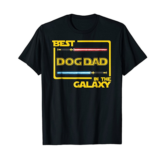 T-shirt - BEST DOG DAD IN THE GALAXY